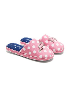 Classic Polka Dot Scuff by Peter Alexander
