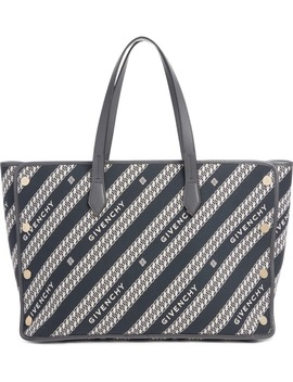 medium-bond-chain-canvas-tote by givenchy