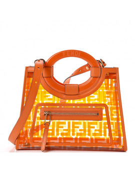 fendi-tpu-ff-glass-small-runaway-tote-aranciata by fendi