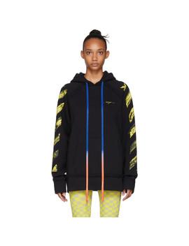 black-acrylic-arrows-slim-hoodie by off-white
