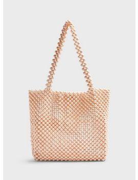 pink-beaded-bag by miss-selfridge