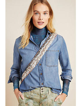 cloth-&-stone-frayed-chambray-buttondown by cloth-&-stone