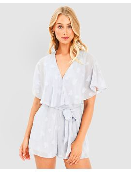 Mckinley Ruffle Playsuit by Forcast