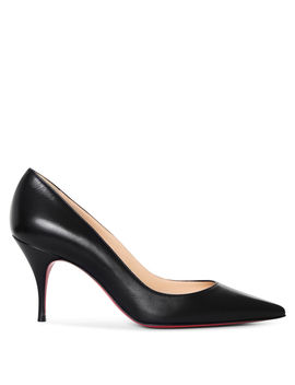 Clare 80 Black Nappa Pumps by Christian Louboutin