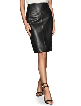 megan-leather-pencil-skirt by reiss