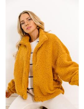 Game Of Love Mustard Jacket by Luca And Grae