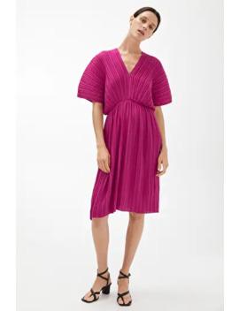 Short Pleated Dress by Arket