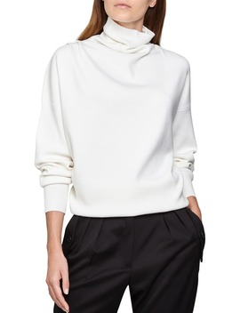 kym-draped-funnel-neck-sweater by reiss