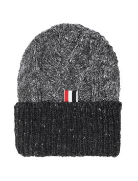 Aran Cable Beanie by Thom Browne