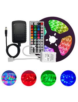 led-bande-lumières-2835-kit-multicolore-ip65-étanche-flexible-rgb-300-led-avec-44-clé-à-distance-dc-12v-alimentation-pour-intérieur by aliexpresscom