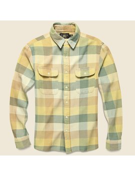matlock-twill-workshirt---yellow_green by rrl