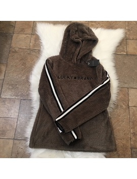 lucky-🍀-brand-teddy-faux-fur-pullover-sweater   nwt by lucky-brand