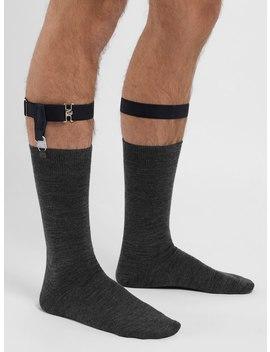 Black Sock Garters by John Henric