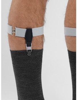 Grey Sock Garters by John Henric