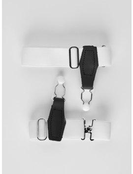White Sock Garters by John Henric