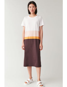 Cotton T Shirt Dress by Cos