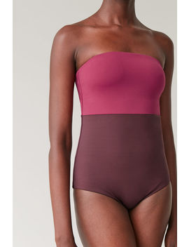 Padded Swimsuit With Detachable Straps by Cos