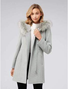 Prue Hooded Coat by Ever New