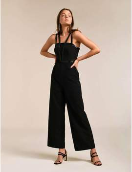 Sammi Sequin Trim Jumpsuit by Ever New