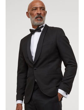 skinny-fit-tuxedo-jacket by h&m
