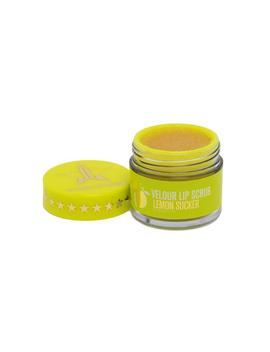 Velour Lip Scrub   Lemon Sucker by Jeffree Star Cosmetics