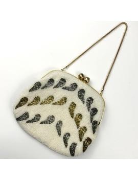 vintage-1950's-art-deco-hand-beaded-handbag by vintage