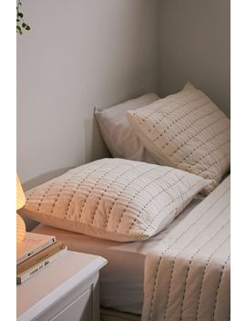 keely-stitch-quilted-sham-set by urban-outfitters