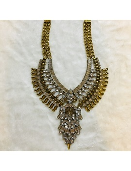 gold-statement-necklace by poshmark