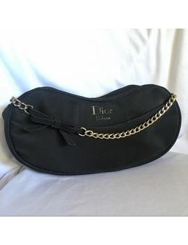 dior-parfums-sparkling-black-wristlet-purse by dior