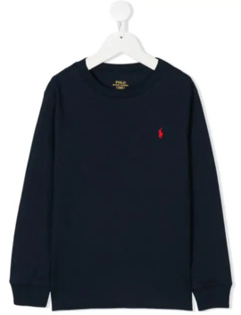 round-neck-t-shirt by ralph-lauren-kids