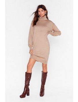 such-a-roll-model-knit-mini-dress by nasty-gal