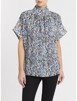 camilla-and-marc-allman-short-sleeve-top---fritz-print by garmentory