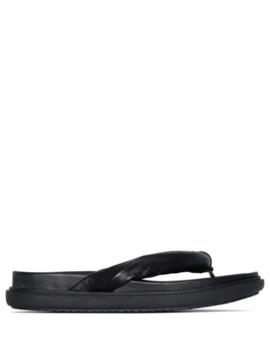 robe-leather-flip-flop-sandals by lvir