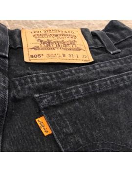 rare-orange-tab-vtg-levis-505-high-waist-jeans by levis