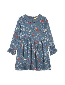 woodland-print-dress by mini-boden