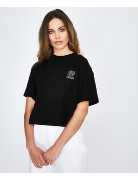 ventura-boxy-t-shirt-black by au
