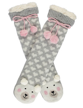 Polar Bear Slipper Socks by Bouxavenue