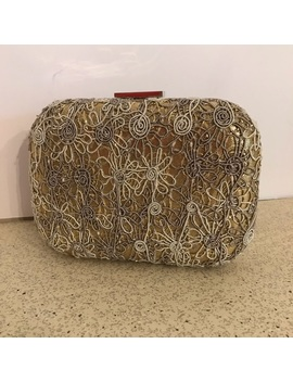 lace-look-evening-bag-box-purse-in-gold-&-silver by expressions-nyc