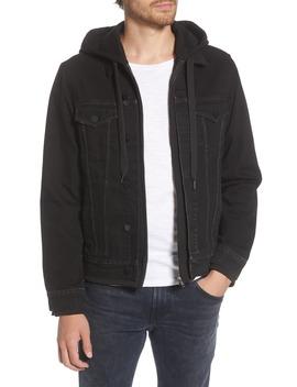 hooded-denim-trucker-jacket by blanknyc