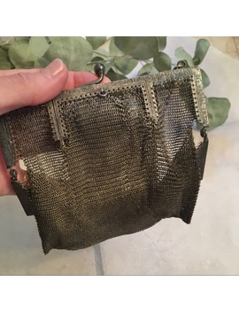 antique-metal-mesh-purse by vintage