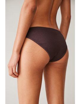 Shirred Bikini Bottoms by Cos