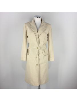 vintage-leiter-s-beige-long-lady-day-coat-boho by vintage