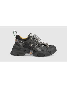 sneaker-flashtrek-uomo-con-borchie by gucci