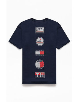 tommy-jeans-sport-tech-logo-t-shirt by pacsun