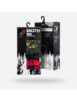 Limited Edition Fireworks/Fireside Plaid Red/Black by Bn3 Th