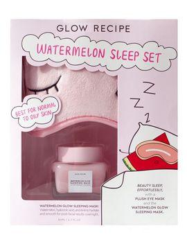 watermelon-sleep-set by glow-recipe