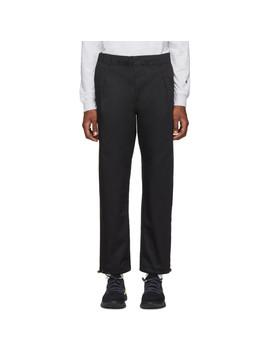 black-straight-hem-trousers by champion-reverse-weave