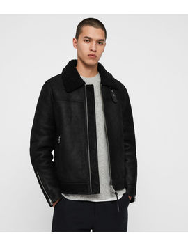Gunstor Shearling Jacket by Allsaints