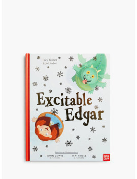 excitable-edgar-christmas-book by john-lewis-&-partners-and-waitrose-&-partners