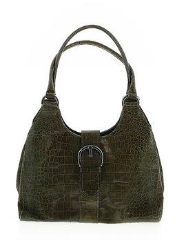 Leather Shoulder Bag by Jaeger
